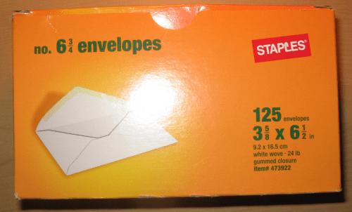 Staples box