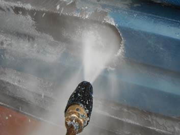 High Pressure Jet Wash