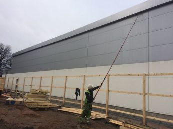 Optimized Cladding Cleaning