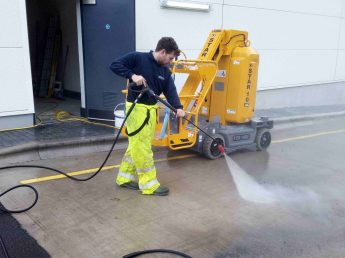 Pressure washing company in Lytham St Annes Lancashire image www.cleaning-service.uk.com