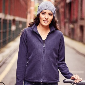 Women's full zip outdoor fleece