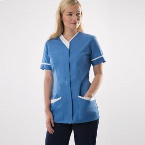 Women's contrast trim tunic