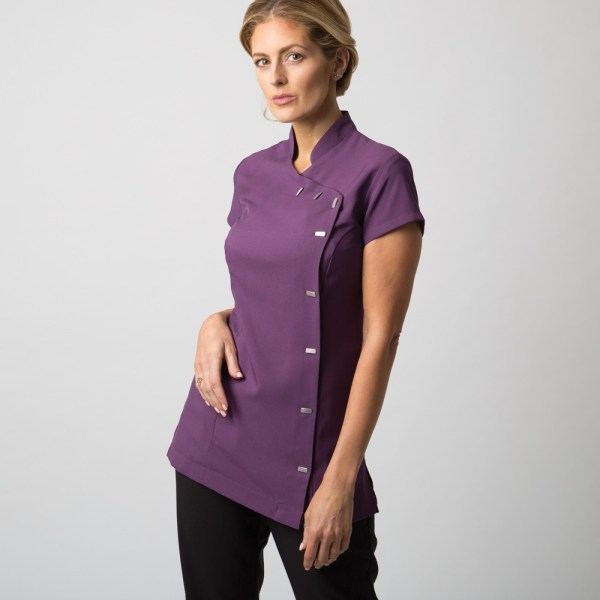 Easy care wrap cleaning tunic