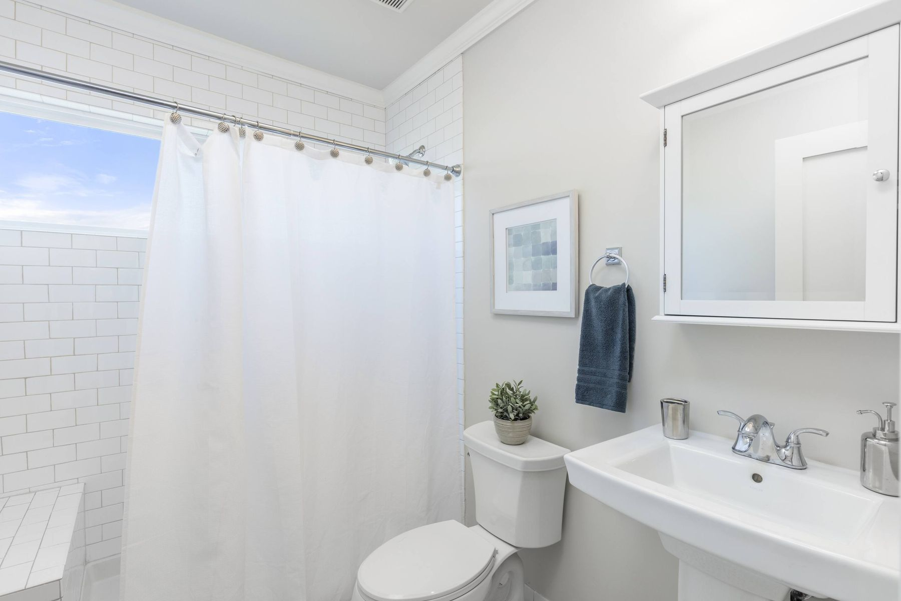 how to clean wash shower curtains 3