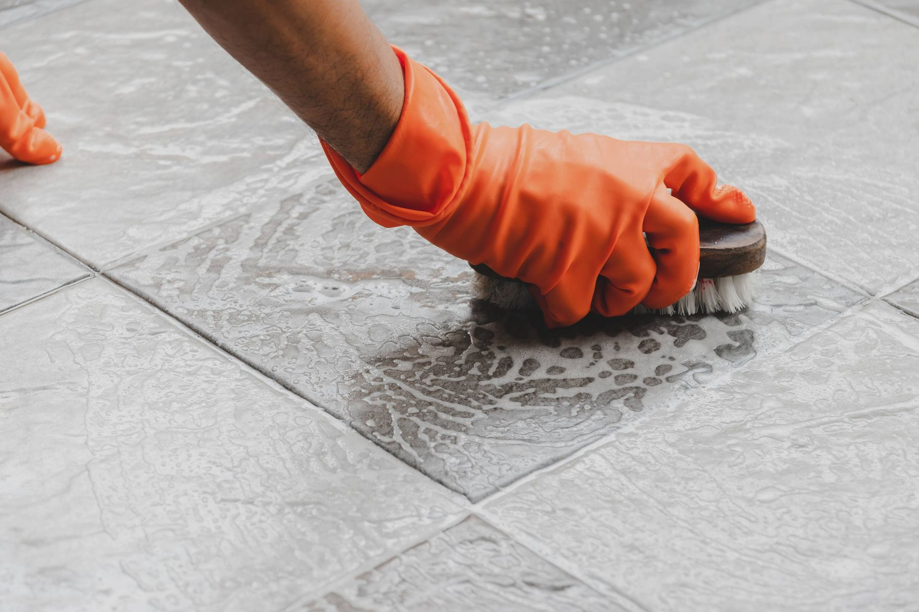 how to clean kitchen tiles cleanipedia