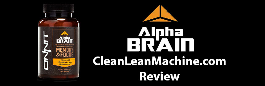 Onnit Alpha BRAIN honest in depth review
