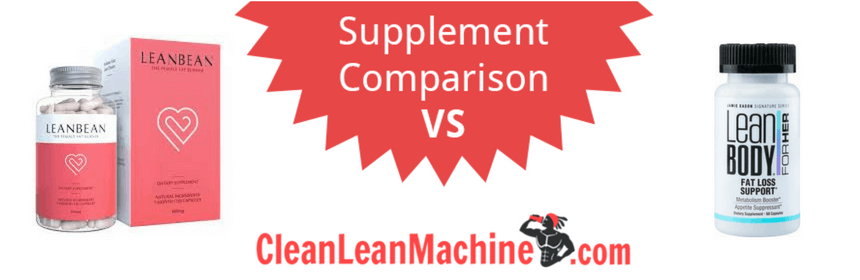 lean bean vs jamie eason fat burn support, lean bean vs jamie eason fat burn support review, compare female fat burners, female fat burners, best female fat burners