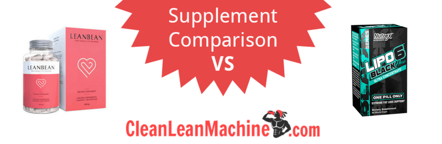 lean bean vs lipo 6 black hers ultra concentrate, lenbean, lipo 6 black hers, compare female fat burners