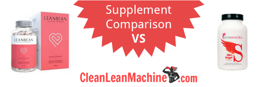 leanbean vs slim angel, slim angel review, leanbean review, female fat burner, compare female fat burners