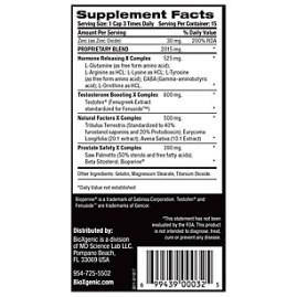bioxgenic high test ingredients