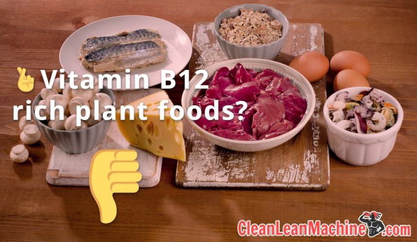 5 challenges of a vegan diet for fitness - Vitamin B12