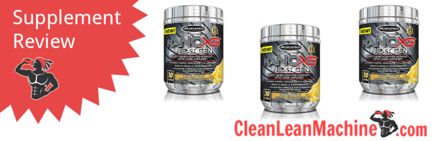 MuscleTech NaNOX9 Next Generation Pre Workout Review