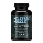 Military Muscle Testosterone Booster Complex product bottle