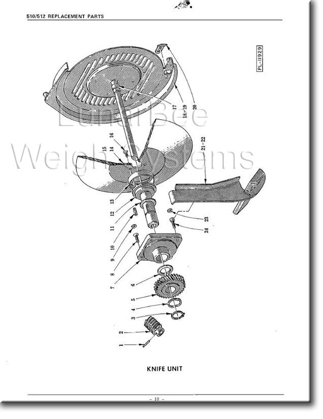 Hobart 510 512 Slicer Operators Instruction and Parts