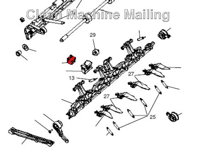 H282037 Straight Arm Flag Sensor for SI1000 DI200 Inserter