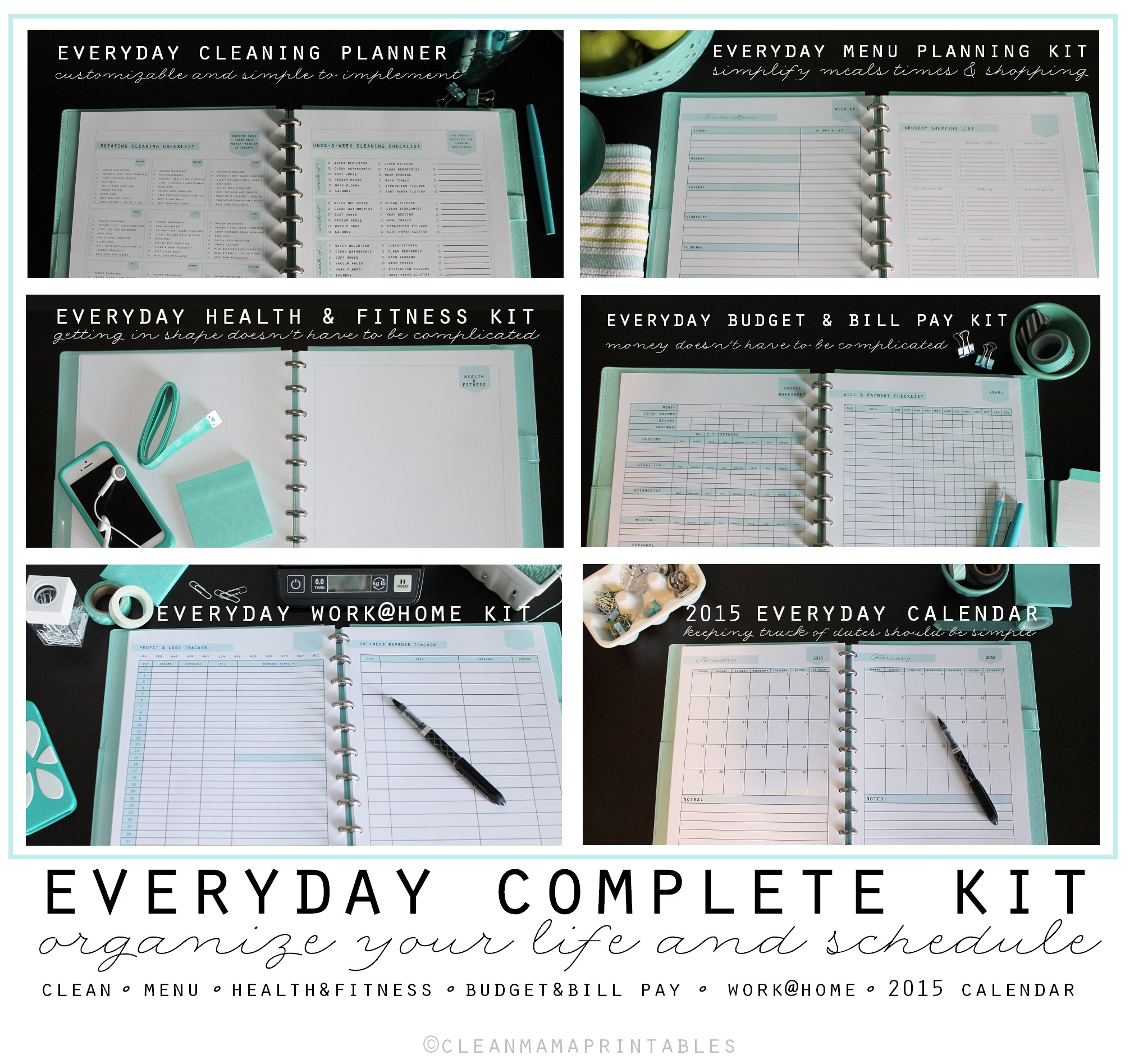 Clean Mama Printables Archives