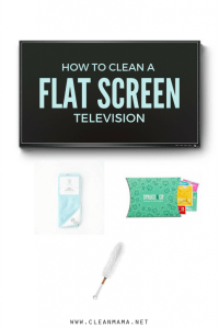 How to Clean a Flat Screen Television - Clean Mama