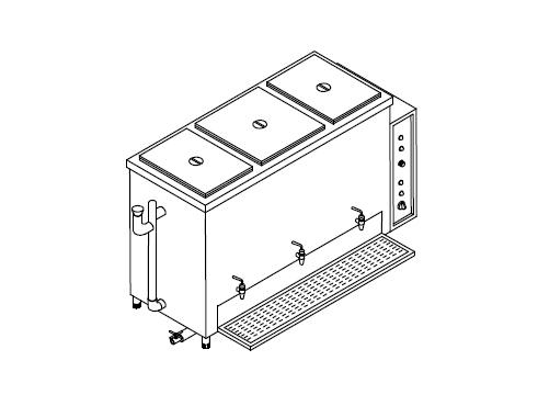 Commercial Kitchen Equipments, Gas Range Burner, Griddle