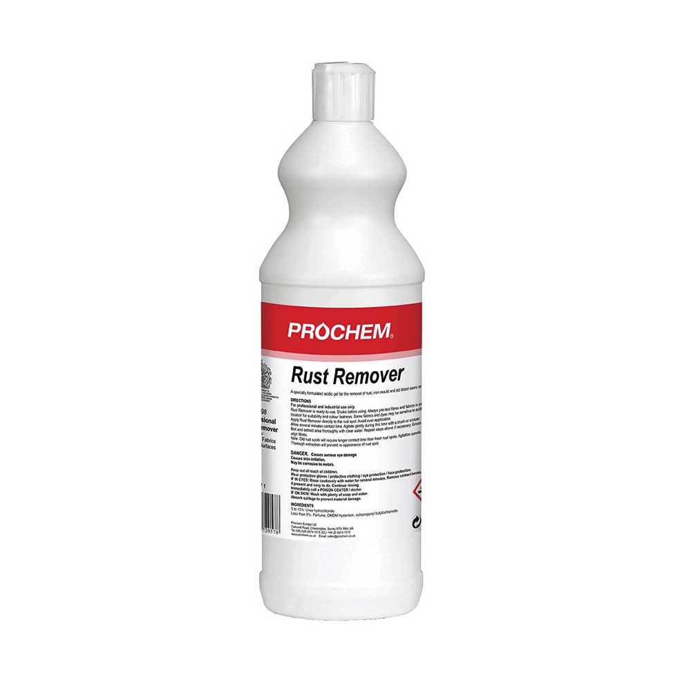Prochem Rust Remover 1l Cleansmart