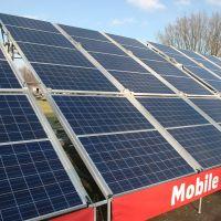 Mobile Solar Park van Bredenoord