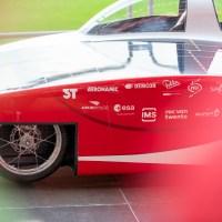 Solar Team Twente kleurt Grolsch Veste nog roder met de RED E