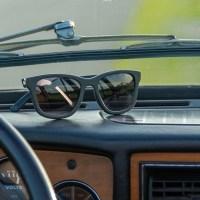 W.R.YUMA print zonnebril van auto dashboards