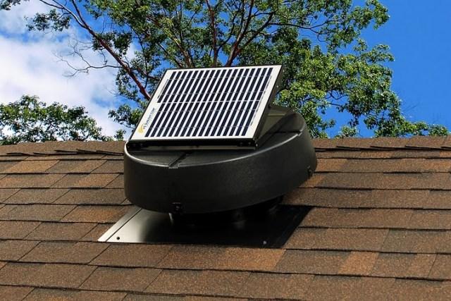 solar-fan
