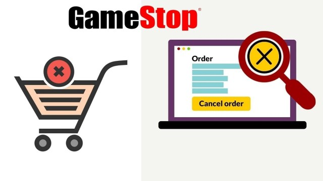 cancel a shipped order in gamestop