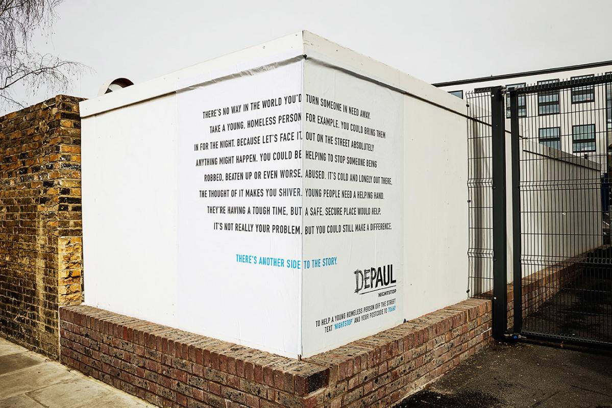 guerrilla-marketing-campagne-witte-muur-dubbel-tekst