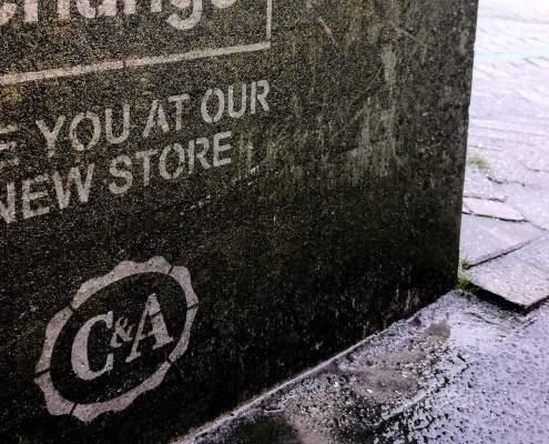 Outdoor campagne heropening winkel C&A