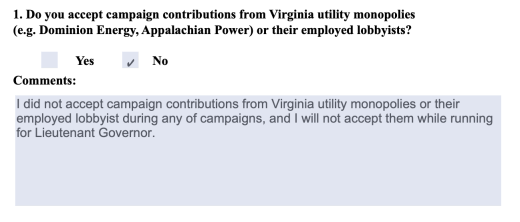 Clean Virginia » BREAKING: Del. Hala Ayala Accepts $100K Donation From Dominion Energy, Betraying Public Commitment
