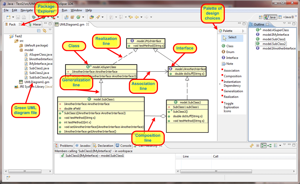 create class diagram from java code shear and moment diagrams for frames using the green uml plugin
