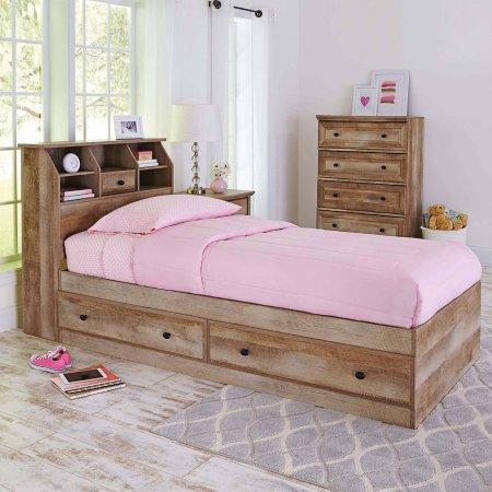 Gardens Crossmill Mates Twin Bed, Crossmill Queen Bed