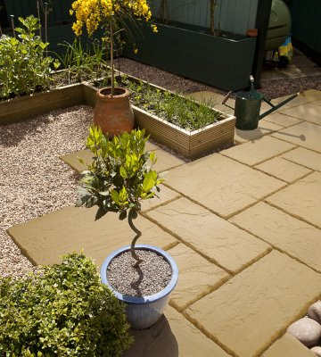 garden patio paving and block paving at