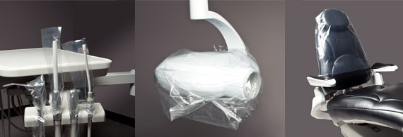 Disposable Dentist Office Barrier Bags  ClearBags