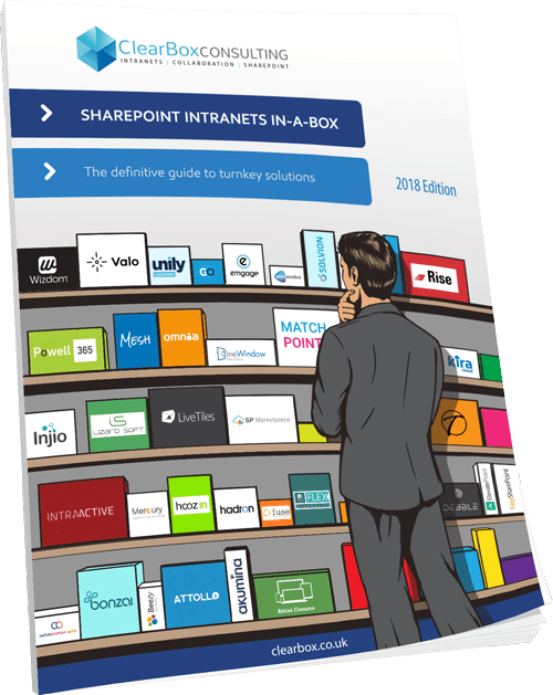 SharePoint intranets inabox report 2018  ClearBox Consulting