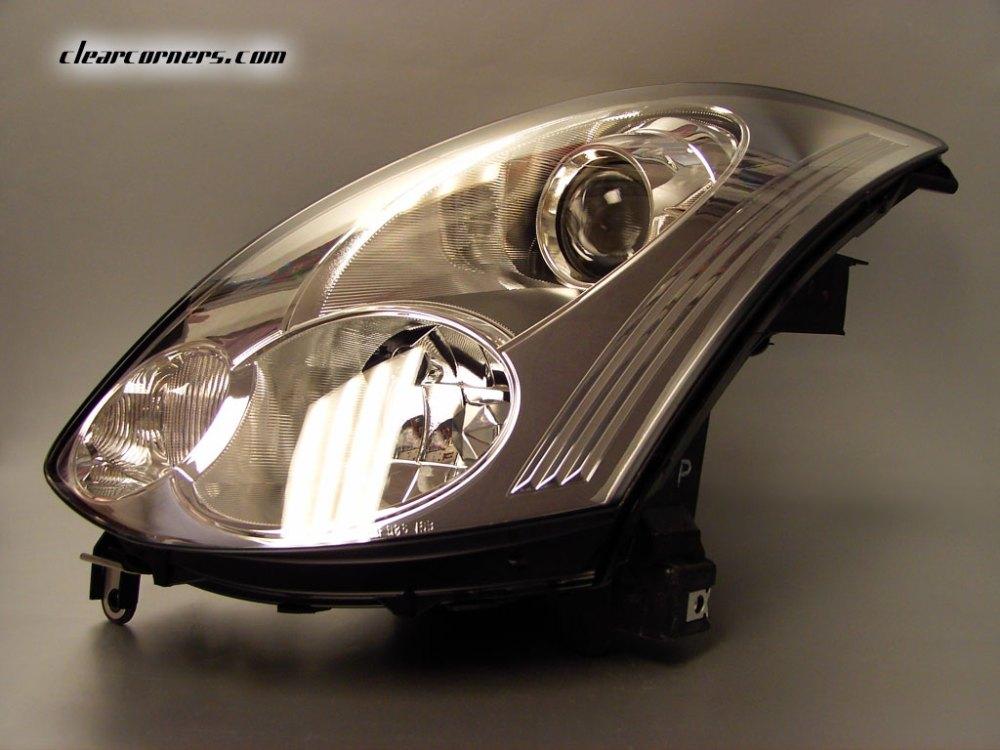 medium resolution of  06 07 infiniti cv35 g35 coupe skyline oem headlight