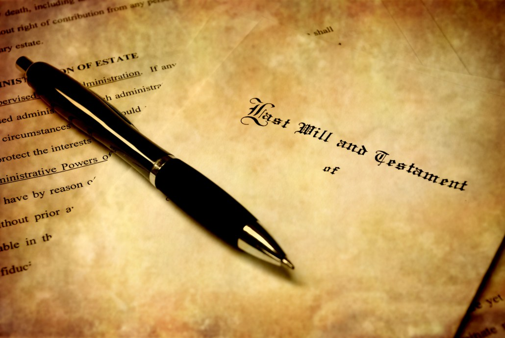 Will with Pen, estate planning, probate, Las Vegas, Nevada