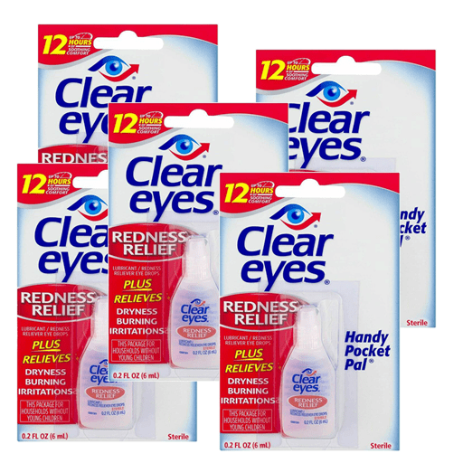 Clear Eyes® Redness Relief 5 pack