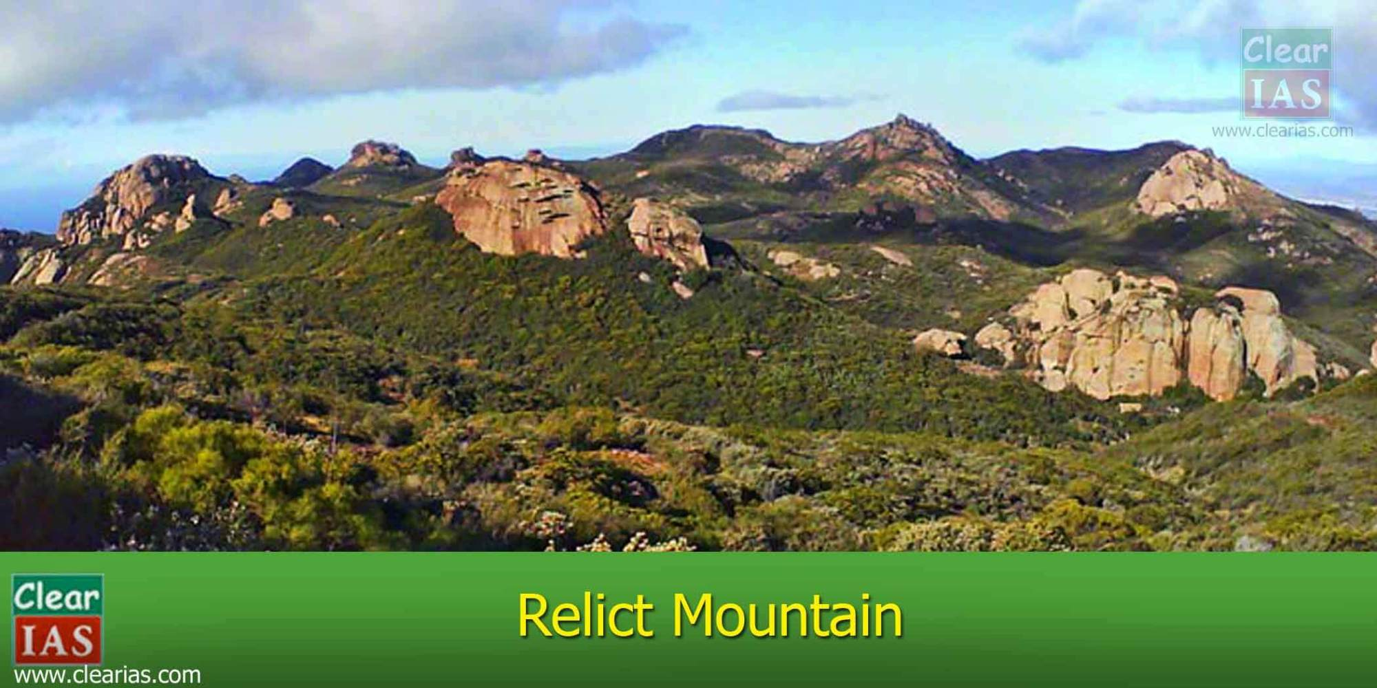 hight resolution of image of a relict mountain