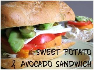 Sweet Potato and Avocado Sandwich