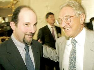 Arminio Fraga Neto with George Soros