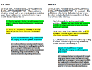Citigroup Wrote the US Spending Bill - side by side view