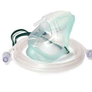 Oxygen mask and tube