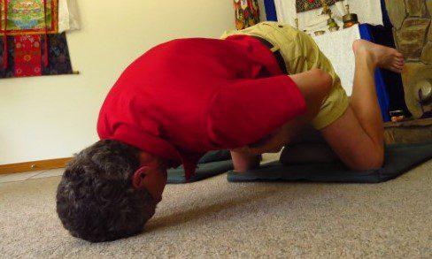 bad meditation posture