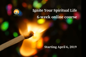 Online course banner for Ignite Your Spiritual Life
