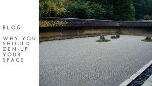 Zen Garden blog title page