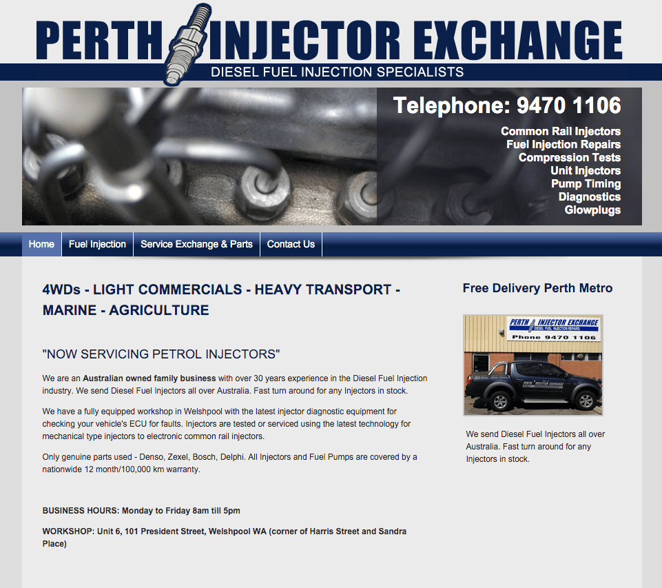 perth injector exchange