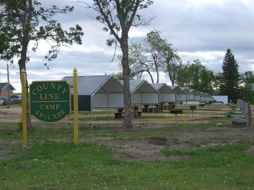County Line Shade Coverings for Picnic Tables
