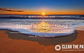 How do Negative Emotions Affect Us?
